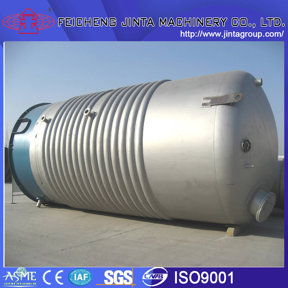 316L Stainless Steel Reactor with Half Pipe