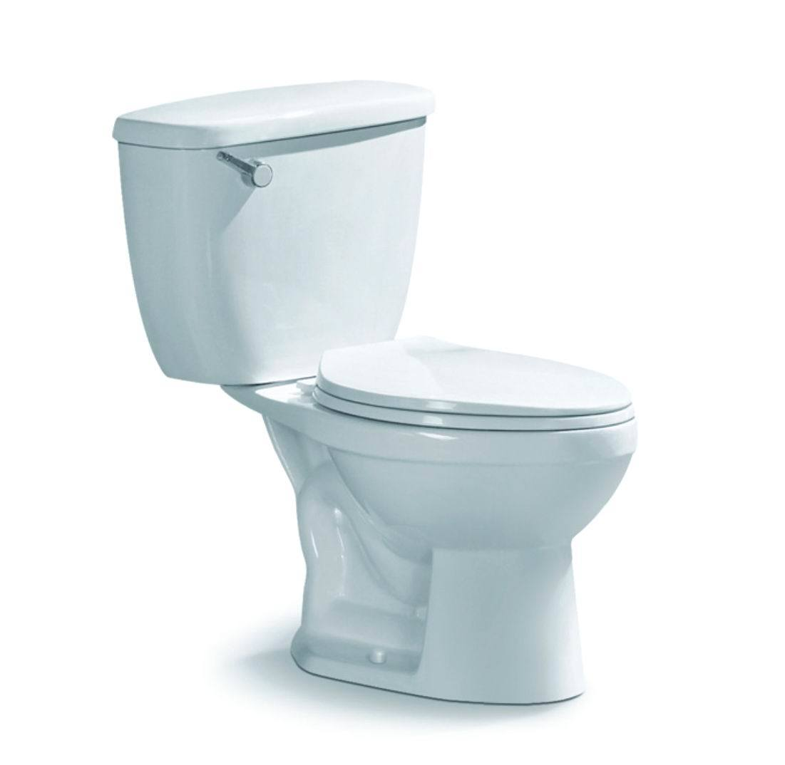 China Lavatory Two Piece Siphonic Toilet for Bathroom (S8007 ...