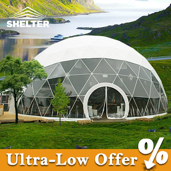 Geodesic Dome Home Plans: China Dia 10m Round Geodesic Dome Home Tent With Plans