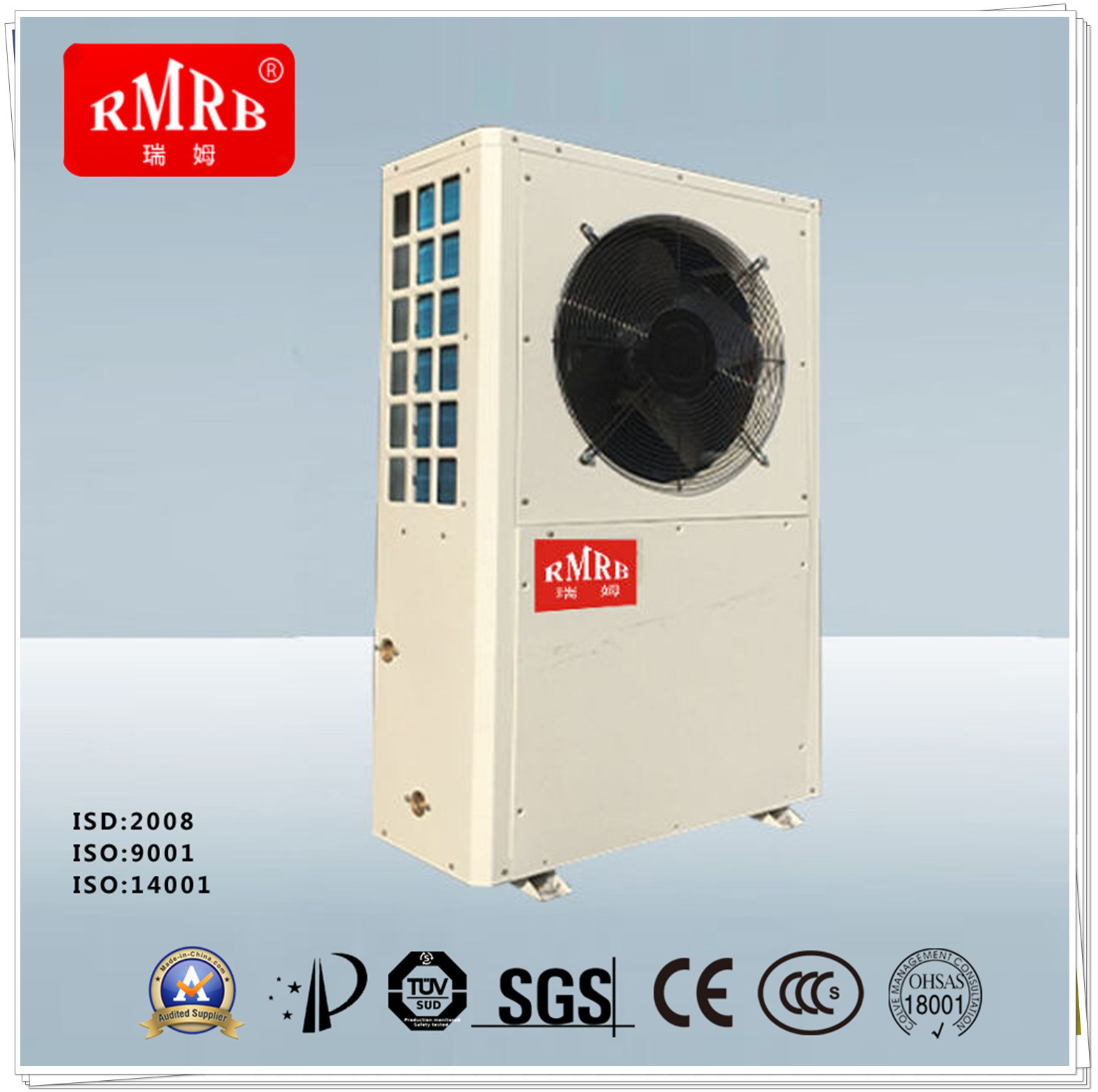 China Air Source Heat Pump Water Heater, to Solar Water Heater ...