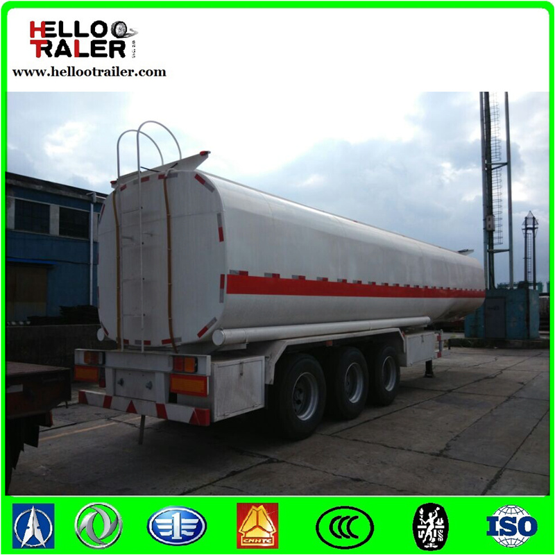 385/65r22.5 Single Tyre 50000 Liters Oil Tanker Truck Trailer for Tanzania pictures & photos
