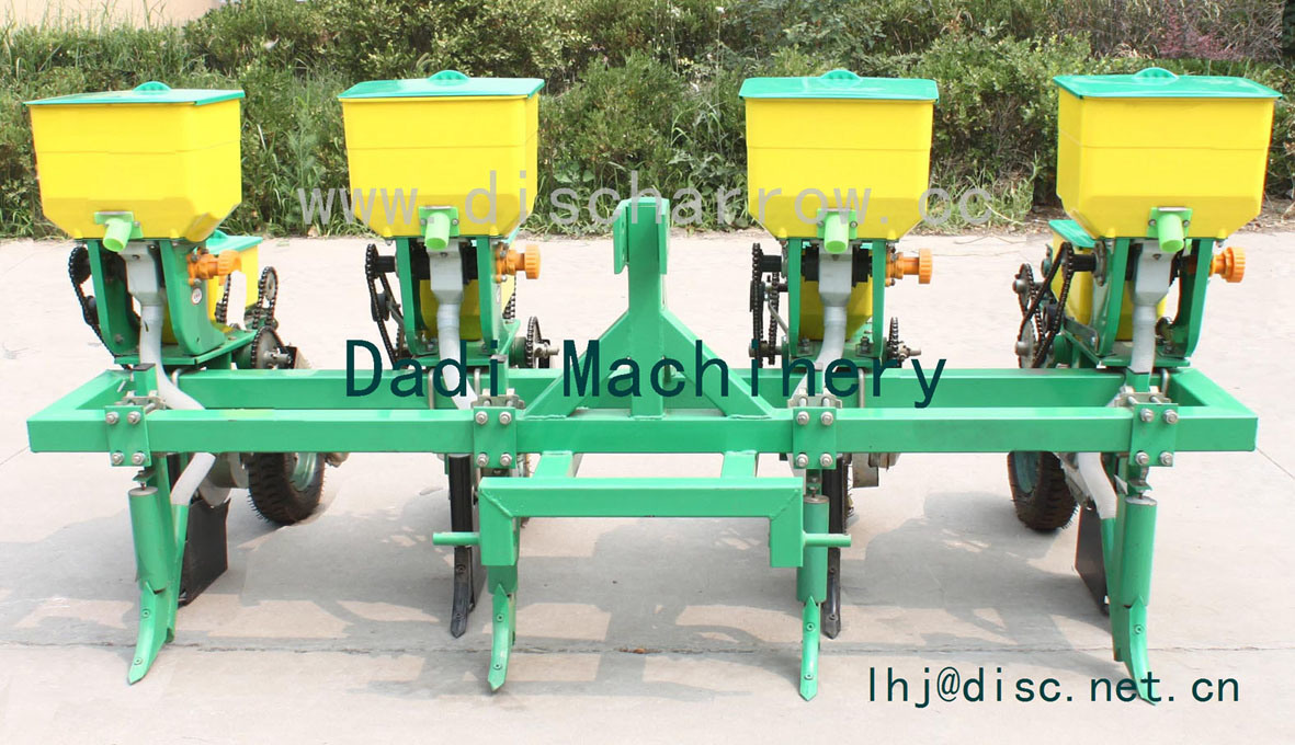 China High Quality 3 Rows Corn Seeder Rows Corn Planter Maize