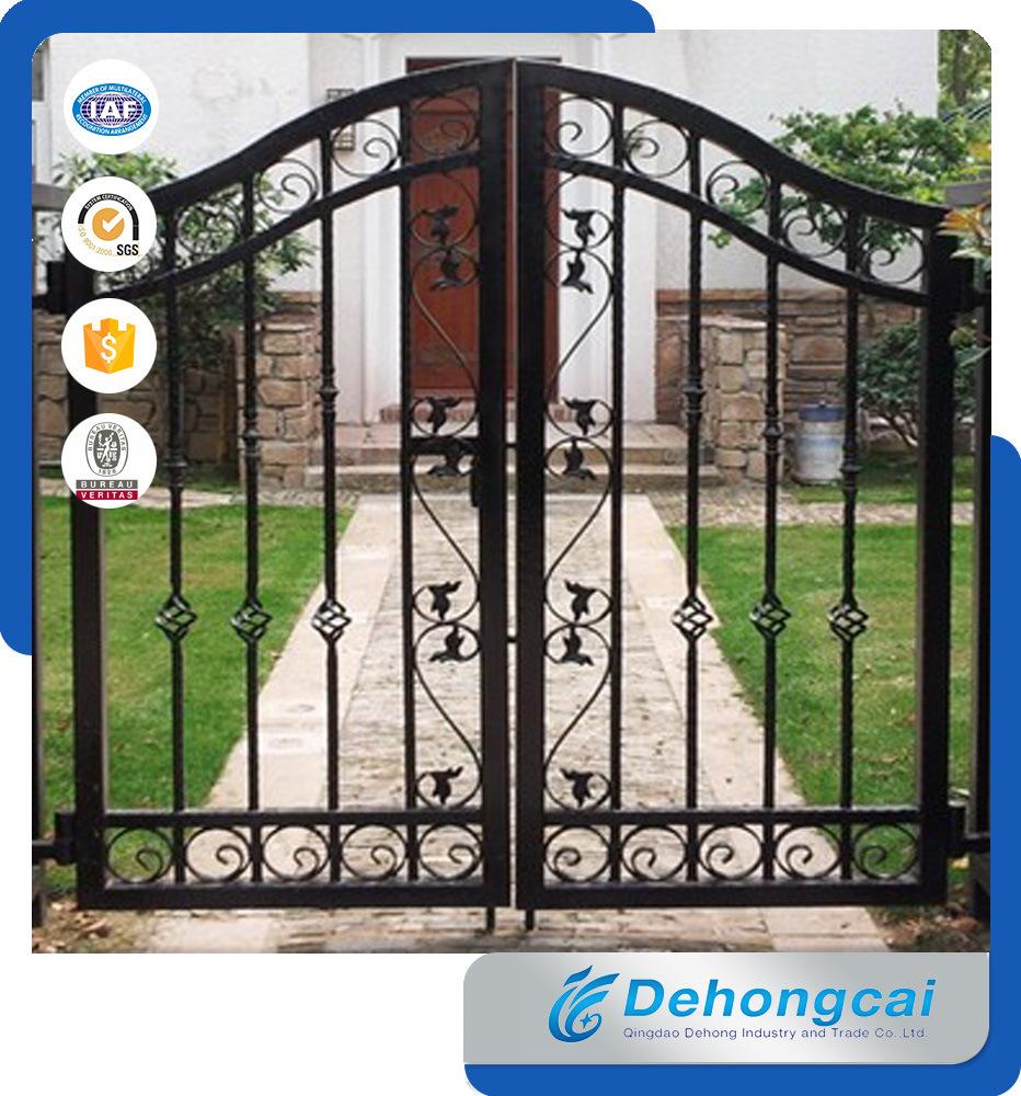 [Hot Item] Single Walk Wrought Iron Outdoor Garden Gate
