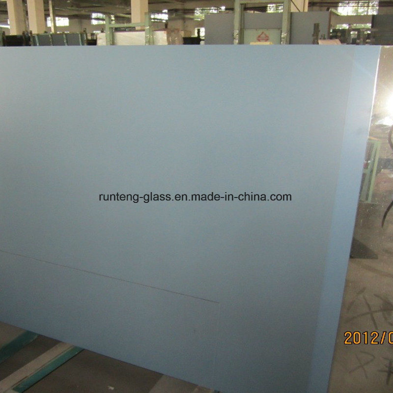 China 6mm Grey One Side Frosted Acid Etched Aluminum Mirror Gray