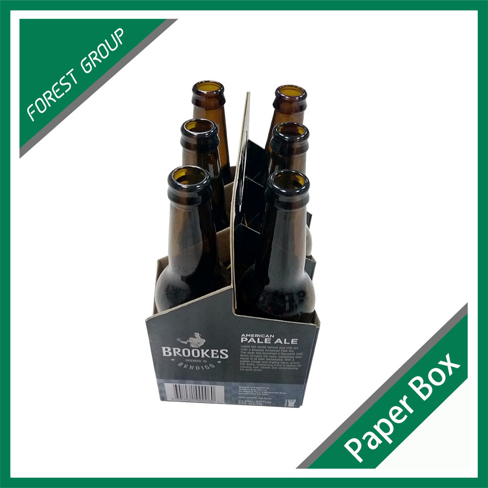 330ml 6 Pack Bottle Beer Carriers Box Wholesale pictures & photos