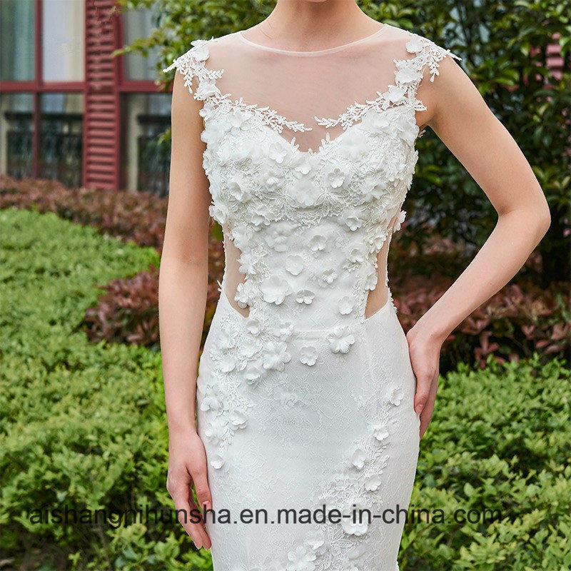 Wedding dresses pictures mermaid braid