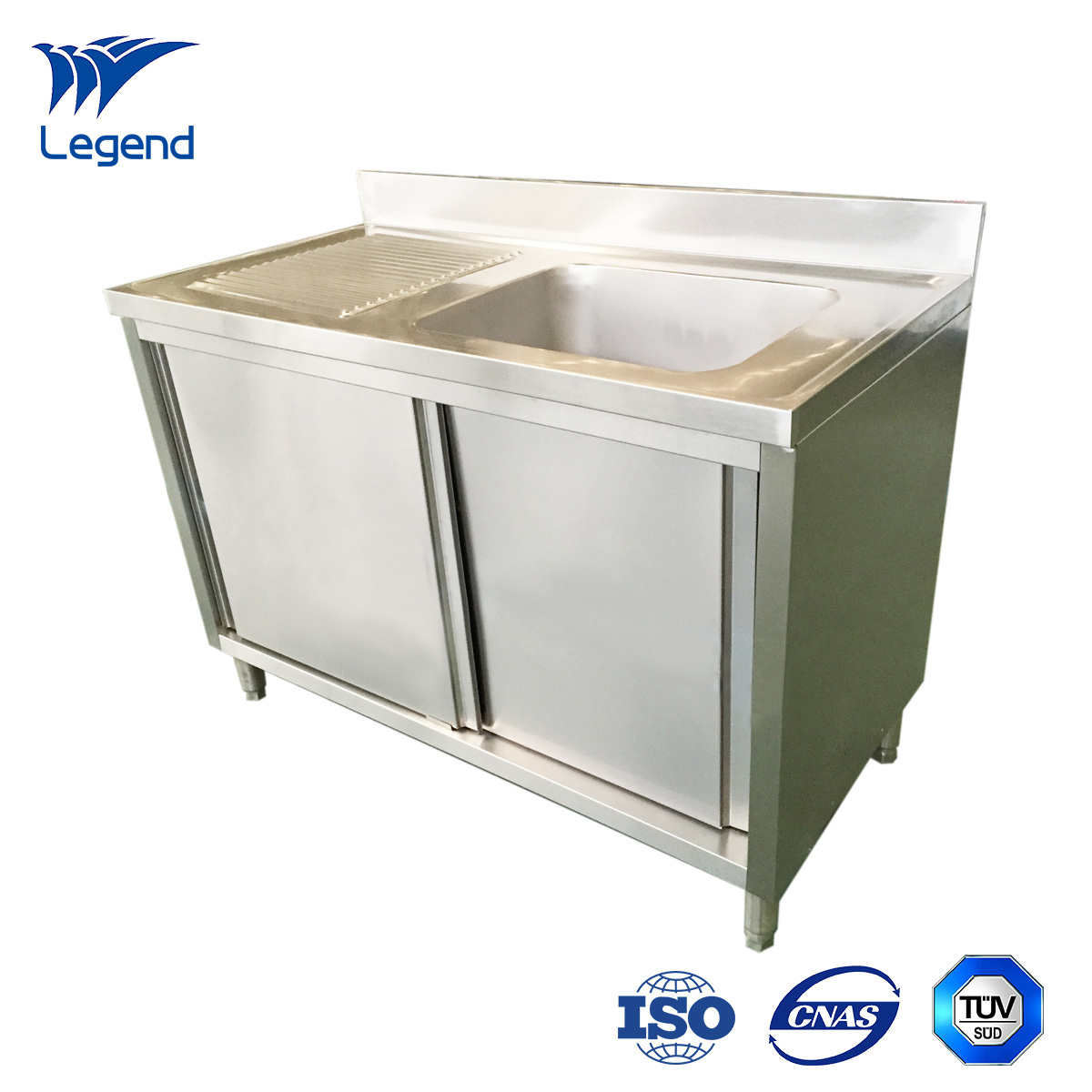 Commercial Stainless Steel Sink Cabinet