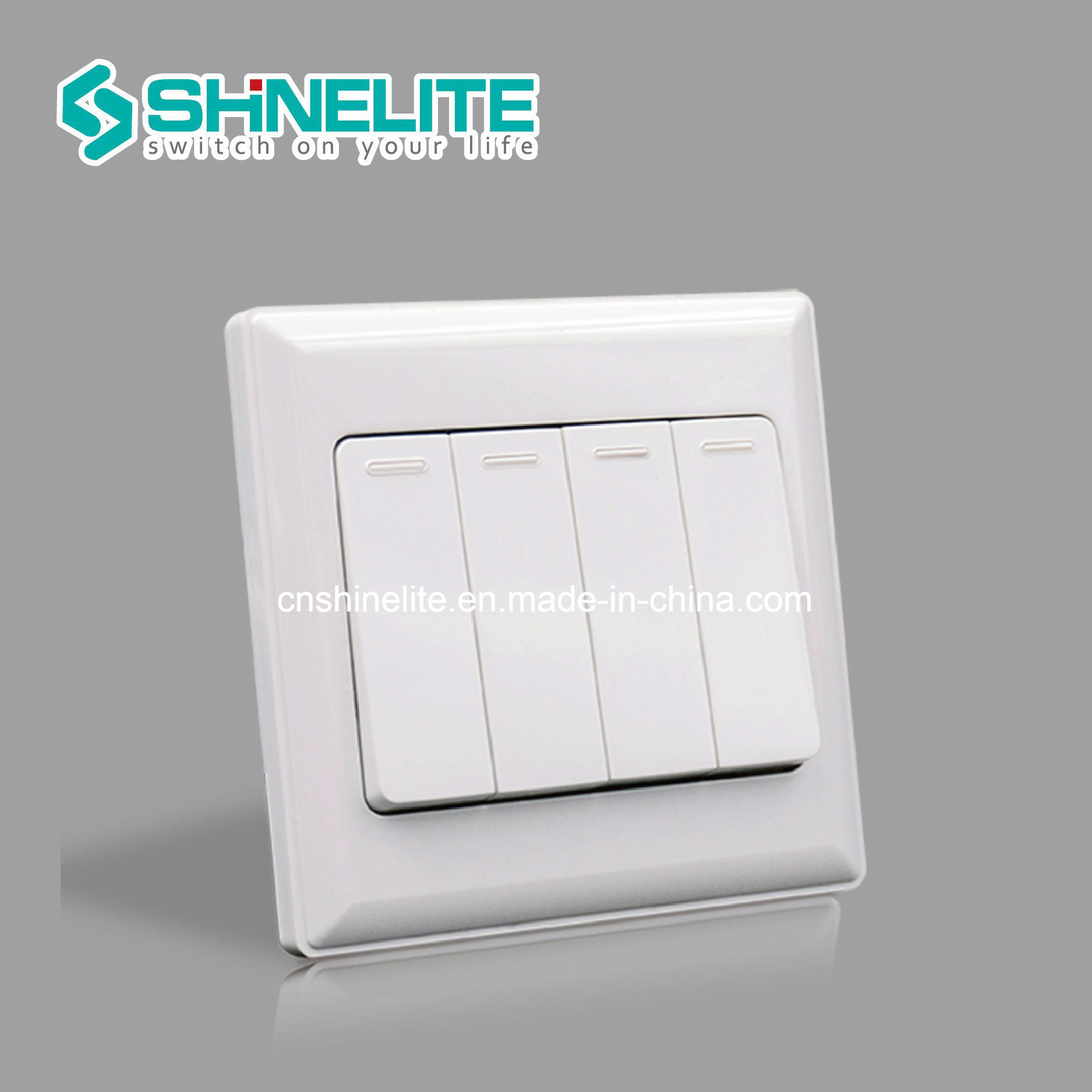 China Four Gang Switch 2 Way Wall Switch of High Quality - China ...