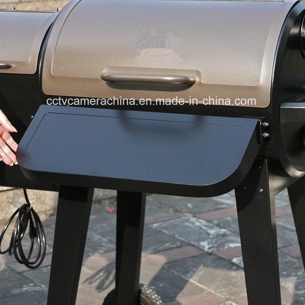 China USA Hot Sale Portable Wood Pellet Smoker BBQ Grill