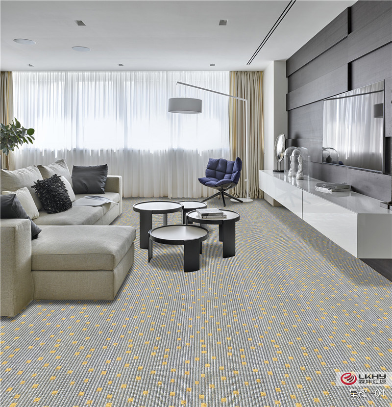 China Plain Color Pp Tufted Wall, Carpet Design For Living Room