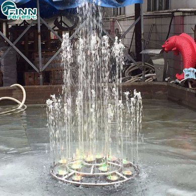 China Home Garden Use Or Square Small Musical Dancing Water