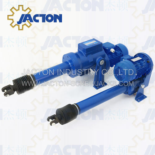 China Heavy Duty Electric Linear Actuators 25000kgf Powerful