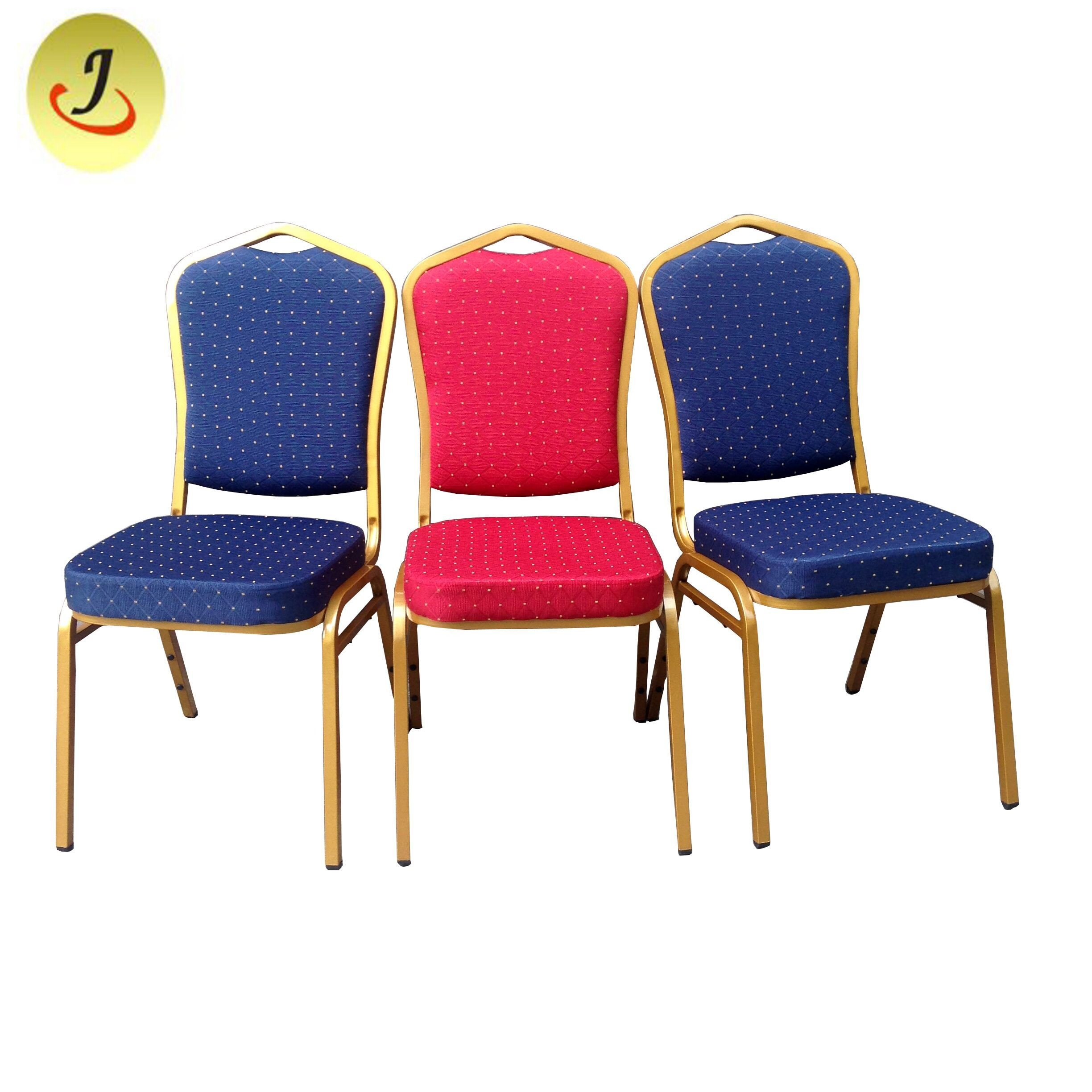 Hot Item Modern Wedding Event Metal Stackable Rental Steel Banquet Chair For Hotel Hall