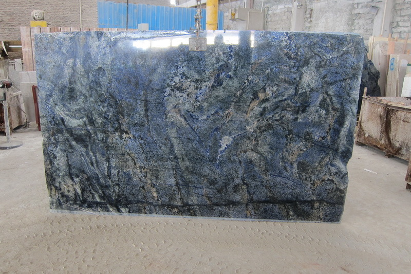 China Azul Bahia Granite Brazil Blue