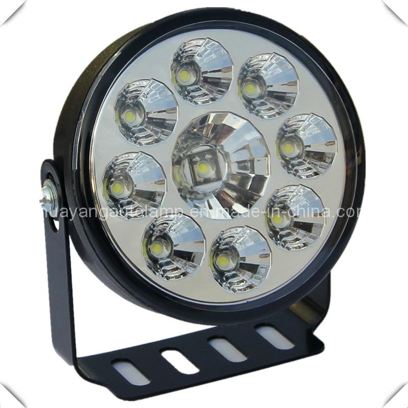 China Led Auto Lamp  9 Pcs Led Daytime Running Light  80mm