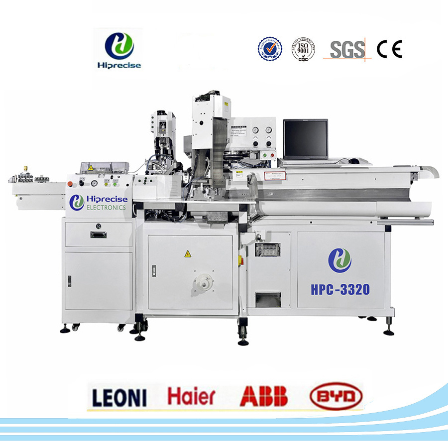 China High Quality Precision Automatic Wire Cable Terminal Crimping ...