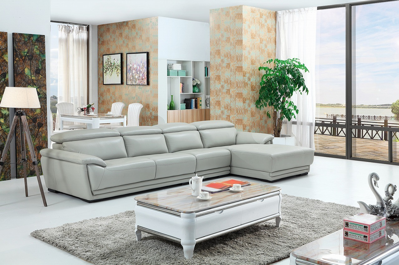China Morden Top Sell European Style Modern Leather Sofa (SBL-9148 ...