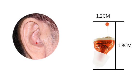 Inner Ear Wireless Mini Digital Hearing Aid pictures & photos