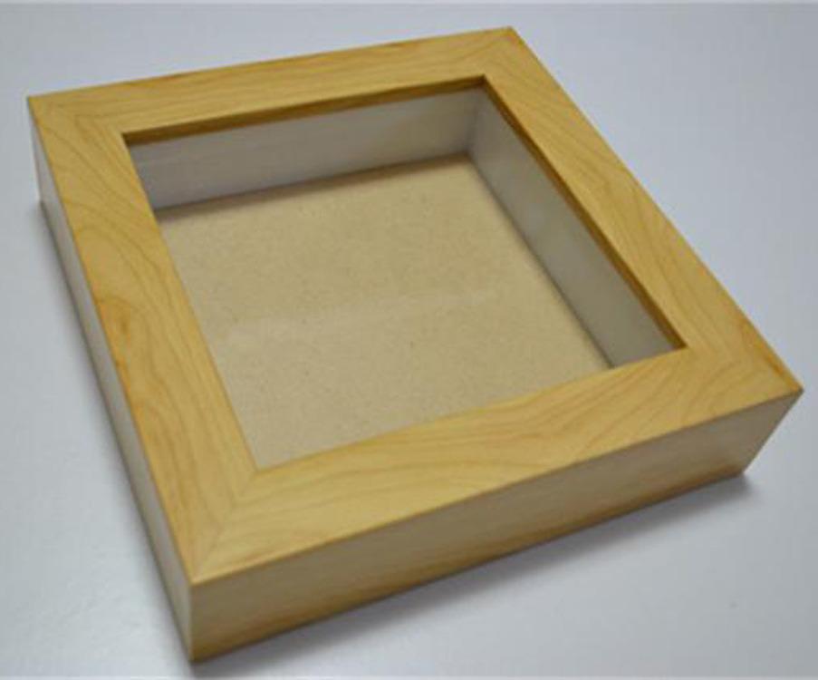 China Wholesale 4657 8101114 Wood Glass Shadow Box 3d Box