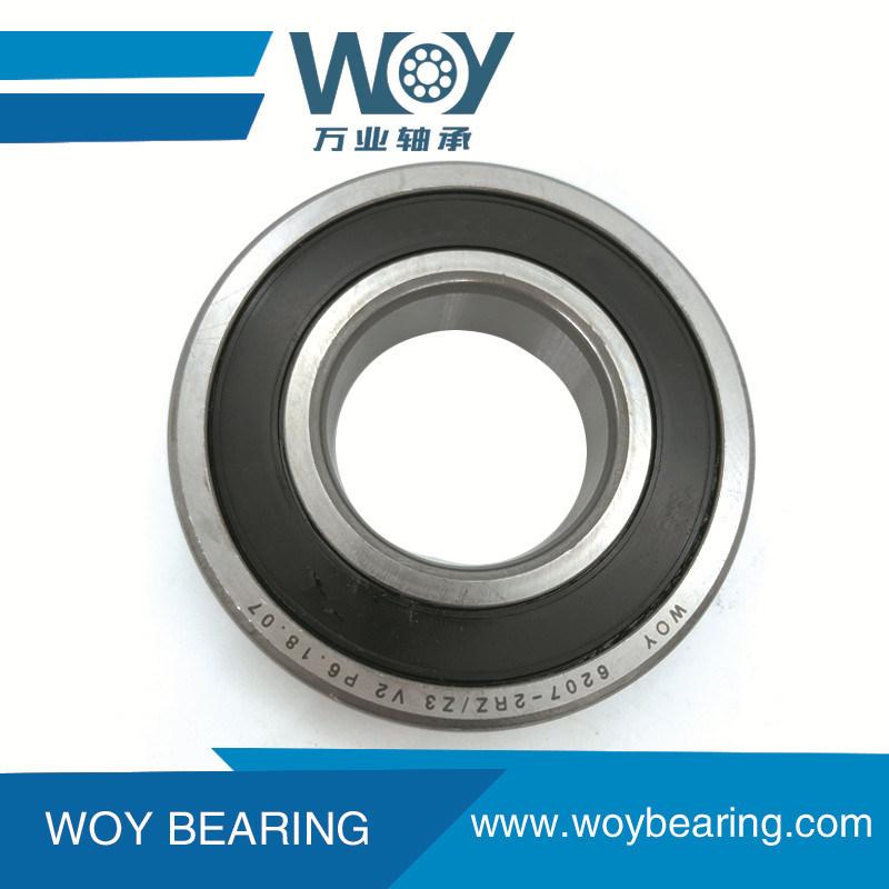 SKF bearing 6206-2RS C3 SKF  rubber seal 6206-rs ball bearings 6206 rs    C1