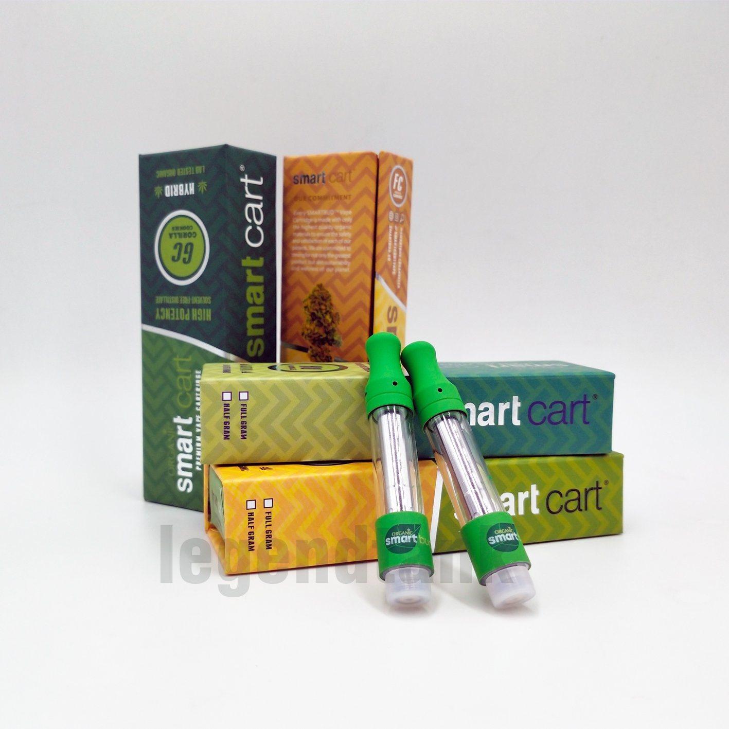 [Hot Item] Smart Bud Carts Top Air Flow 1 0 Gram 510 Thread Cartridges
