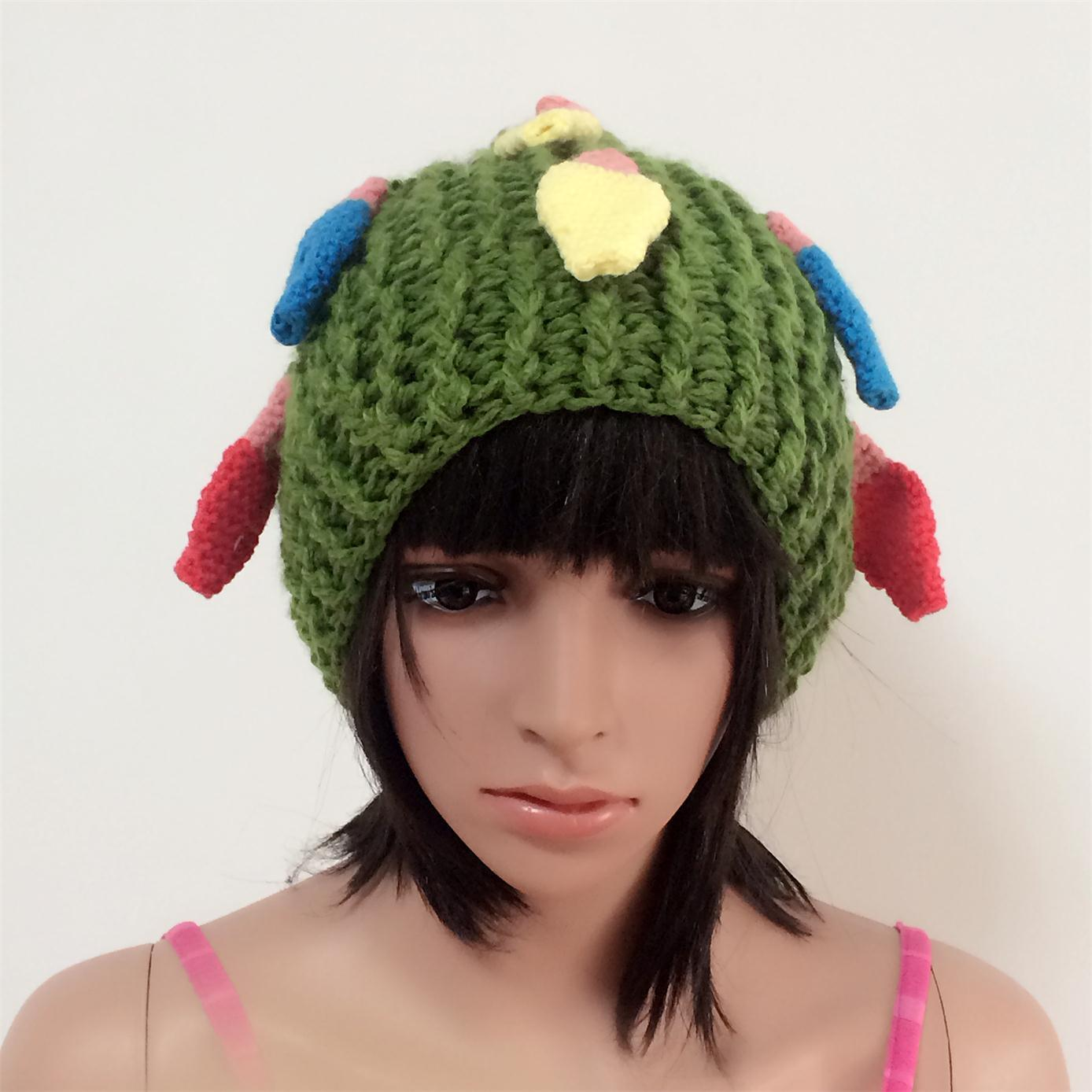 a26f6f77a [Hot Item] 100% Iceland Wool, Hand Made Fashion Crocheted Hats with  Decoration