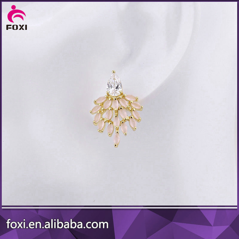 2016 Fashion Indian Artificial Jewellery Cubic Zircon Jewelry Sets pictures & photos