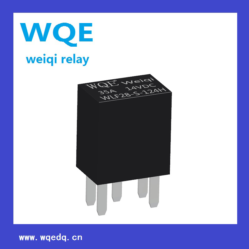 (WLF28) PCB Relay Auto Parts (WLF28) Use for Automotive Fuel Pump, a / C Compression Clutch