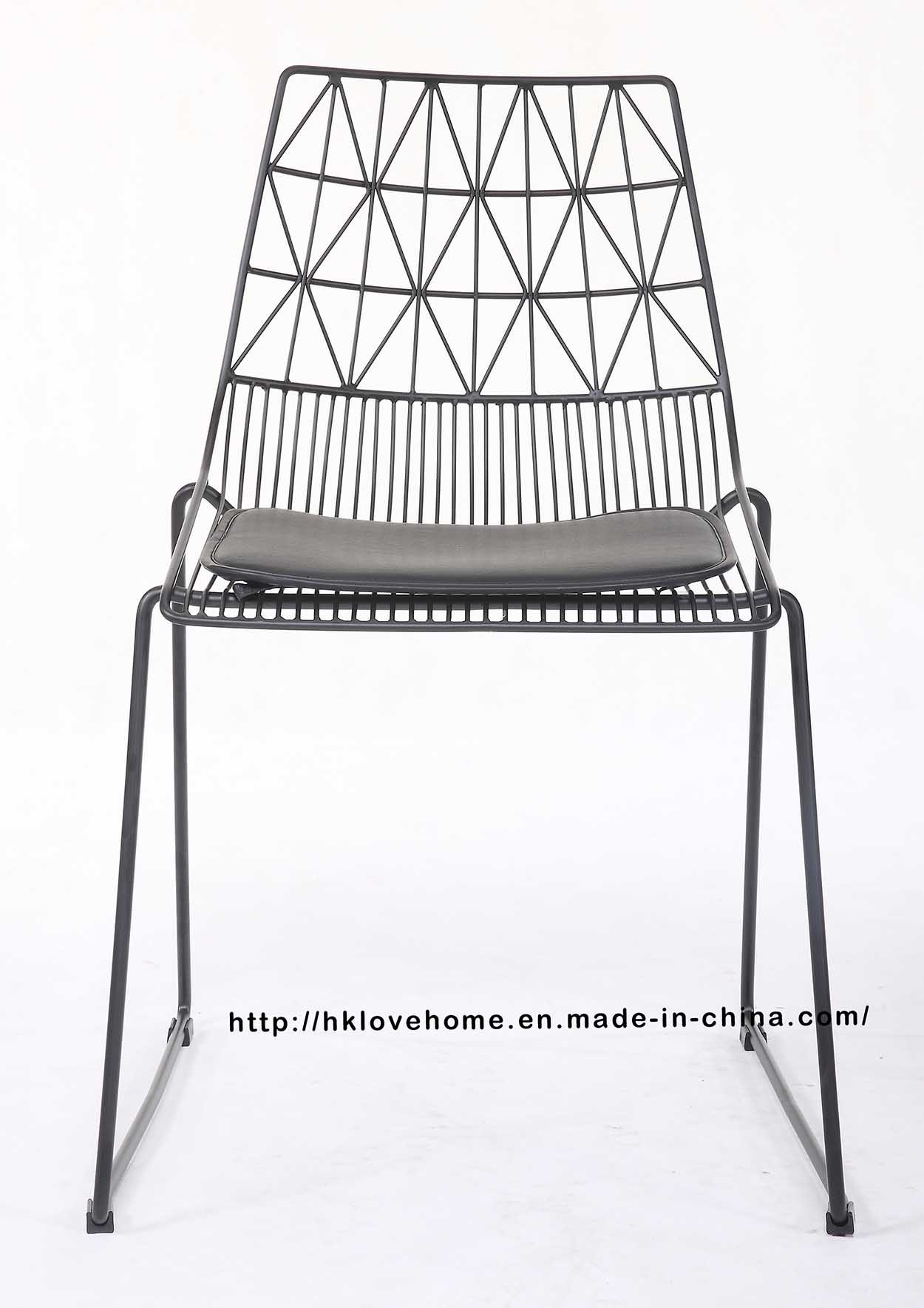Surprising Hot Item Modern Restaurant Furniture Classic Steel Stackable Bend Side Wire Dining Chair Forskolin Free Trial Chair Design Images Forskolin Free Trialorg