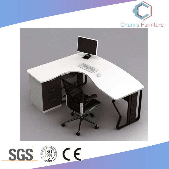 China Classical Furniture White Top Office Table Computer Desk Cas Md1897