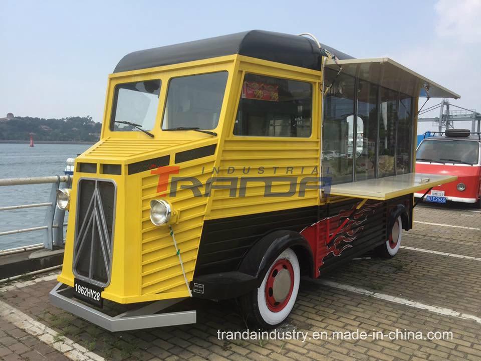 Tranda Professional Food Cart And Kiosk Uk Citroen 1969 Hy Van Vintage Mobile Electric Truck