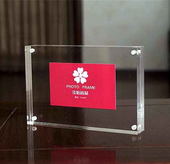 China 5X7 Inches Clear Plastic Acrylic Picture Display Frames ...
