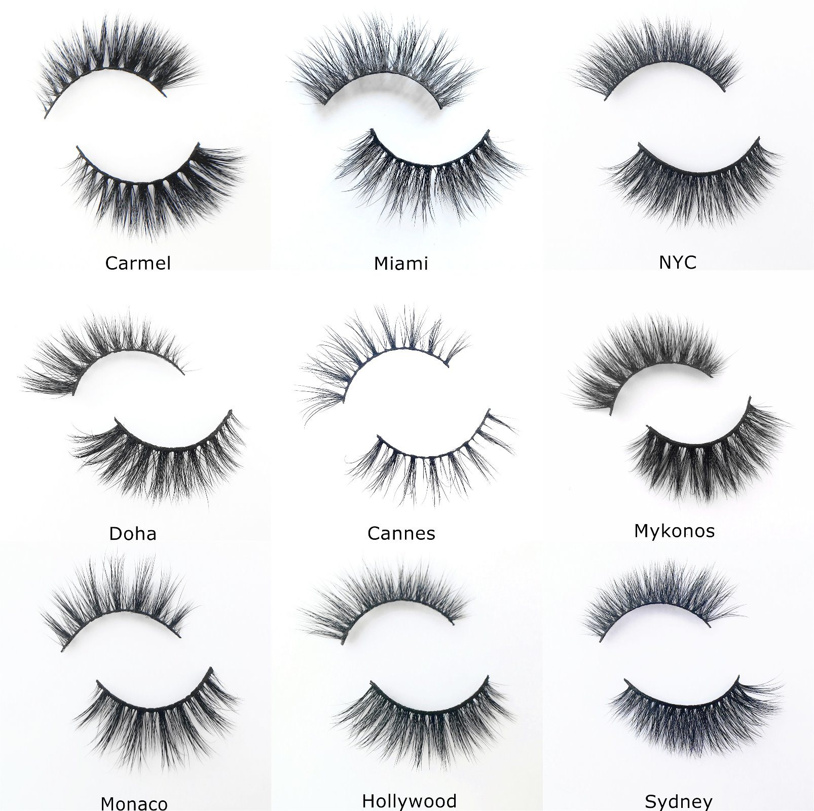 China Factory Price Beauty Supplies Own Logo 3d Mink Eyelashes
