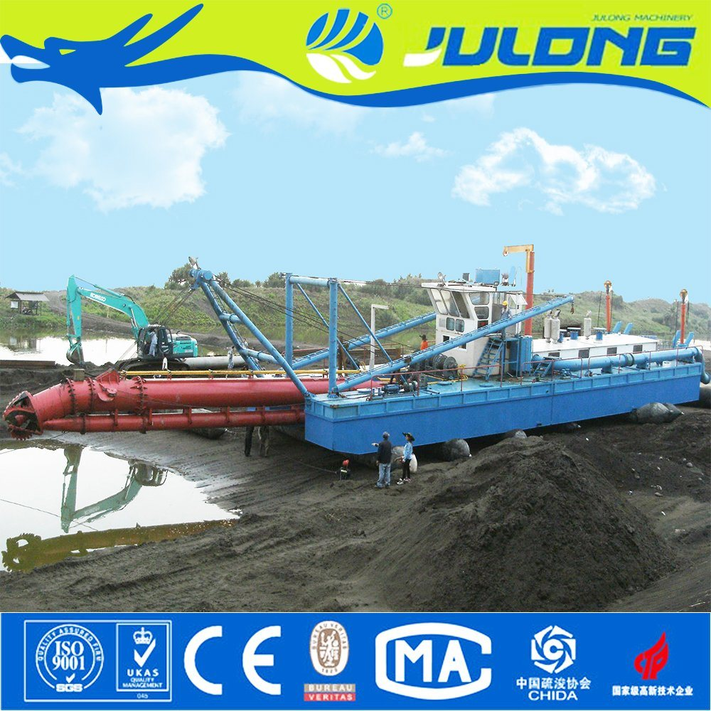 [Hot Item] Good Quality Hydraulic Sand Cutter Suction Dredging Machine for  River/Lake/Sea for Sale
