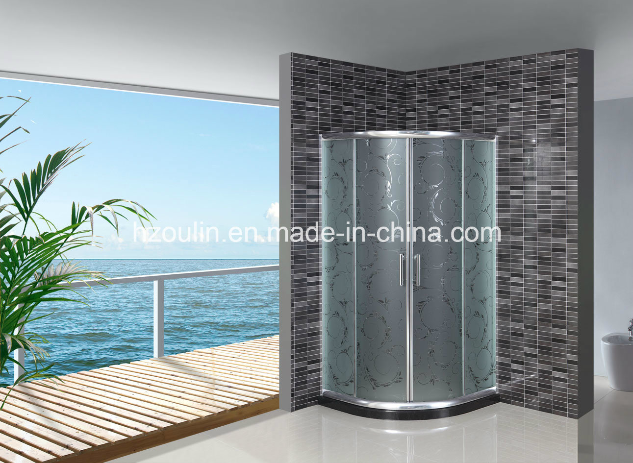China Bathroom Shower Screen Door As 923 Without Tray Photos
