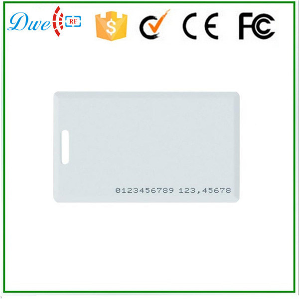Read Only Function ISO ID Em4200 Clamshell Card with Number Printed