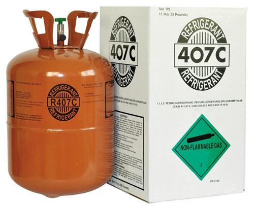 Mezcla de refrigerante R407c