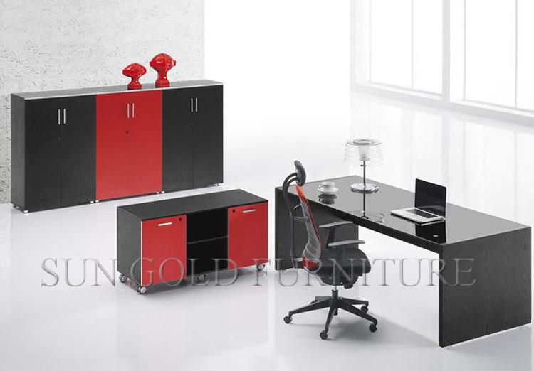 Meubles de bureau modernes de mode dimensions de bureau standard