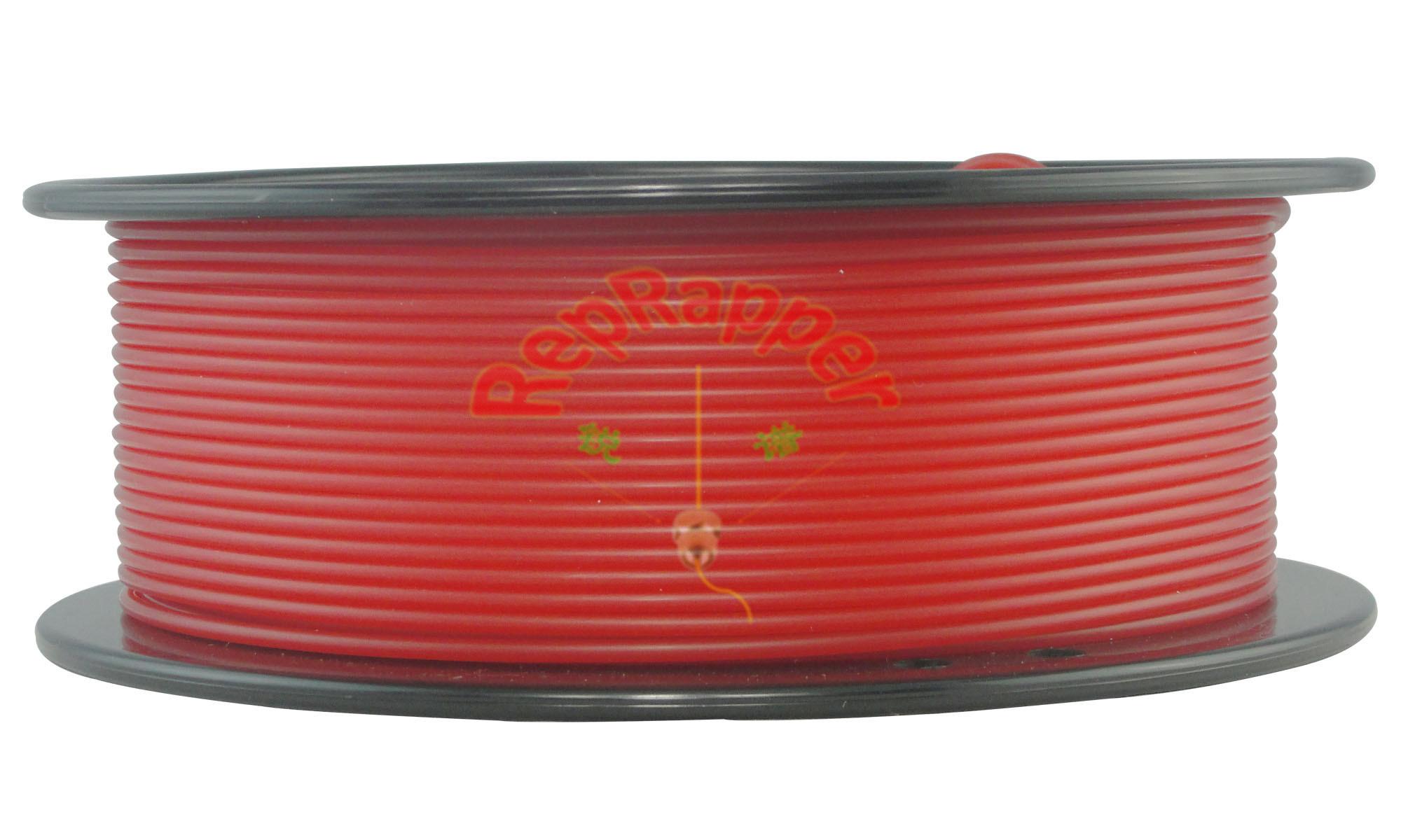Bien d'enroulement 3.0mm en nylon rouge filament d'impression 3D