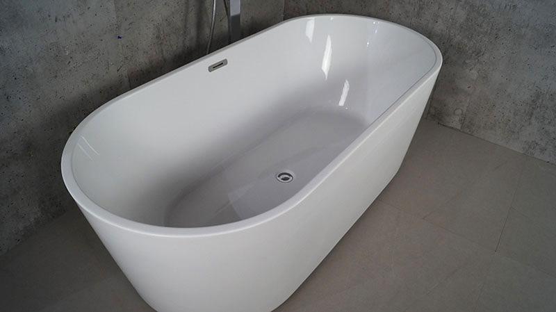 Vasca Da Bagno In Plastica : Vasca da bagno di plastica indipendente ovale di plastica di bagno