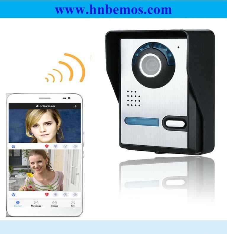 Video campanello senza fili del telefono del portello di WiFi con il citofono bidirezionale