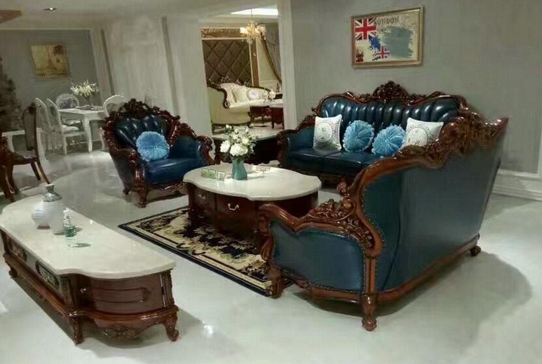 l 39 am rique canap en cuir de style antique canap en cuir de cire de haute qualit nouveau. Black Bedroom Furniture Sets. Home Design Ideas