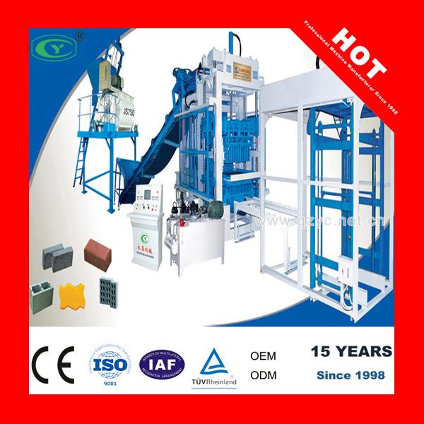Calidad certificada CE máquina de fabricación de ladrillos de hormigón