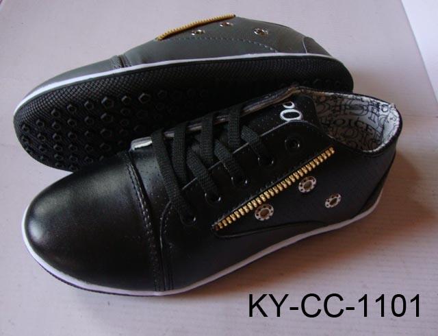 EnWalkingの靴(KY-CC-1101)のgineオイルのプラスチック帽子型