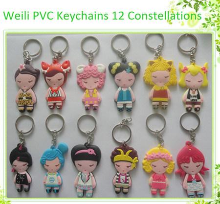 선전용 3D Keychain, 3D PVC Keychain