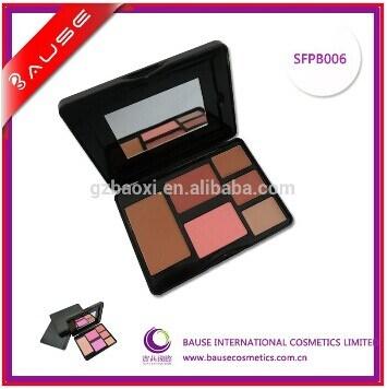 Sale superiore Customized 6 Color Blush in Tin Palette