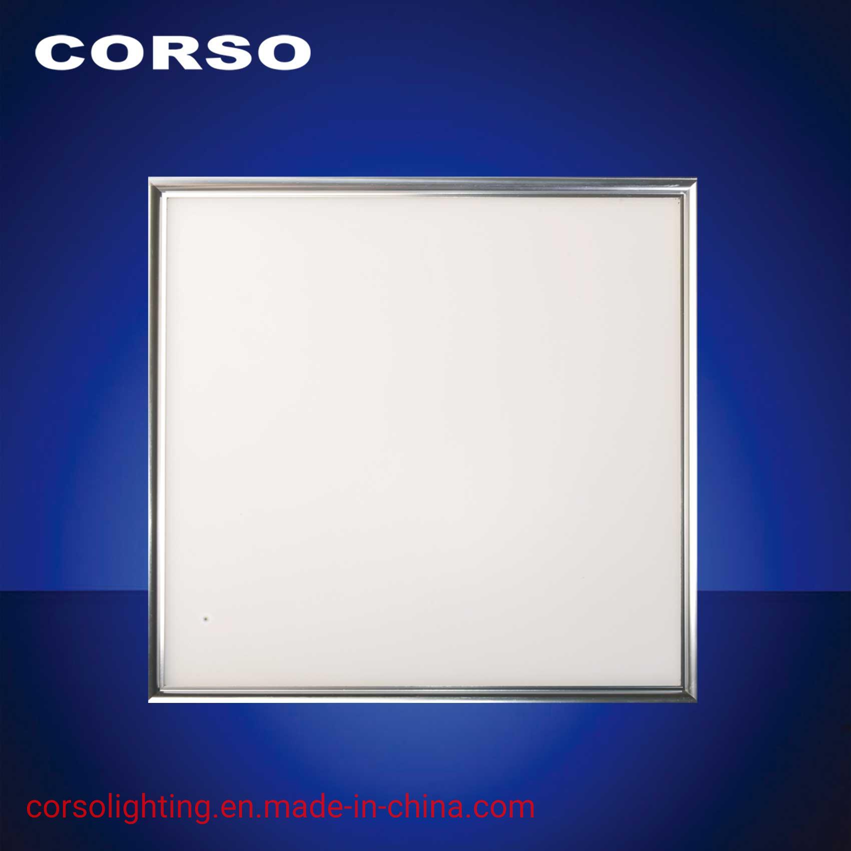 36W Суперяркий стороны светодиодная панель с подсветкой потолочный светильник с маркировкой CE стандарт для домашнего освещения в коммерческих целях без мерцания лампа зажимное приспособление для установки внутри помещений