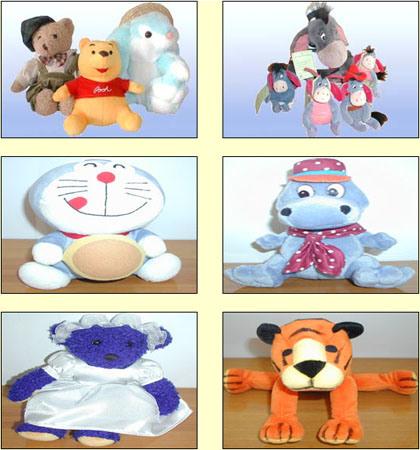 Мягкие игрушки (мультфильмы)
