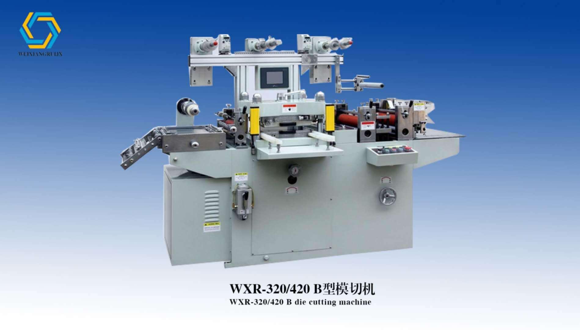 Máquina de troquelado con papel aluminio Film etiqueta 320/420