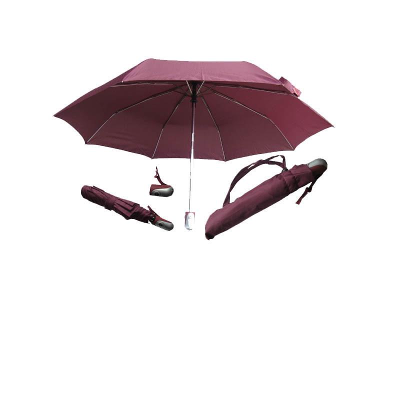 21''*8 nervures Ouvrir et fermer parapluie automatique